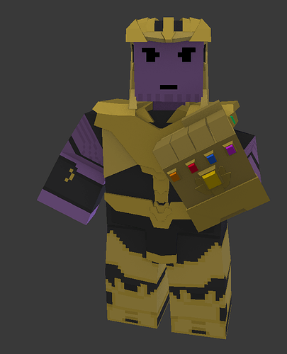 Thanos Mod and Character Model Status - Modding Discussion