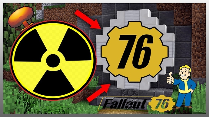 Image result for Minecraft Fallout 76