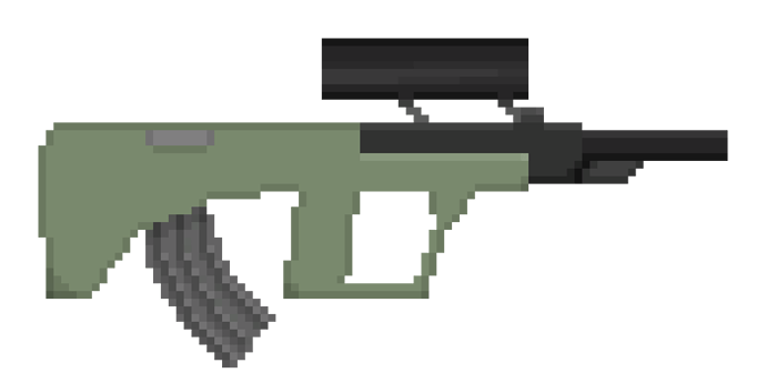 Augewehr - Unturned Pixel Art