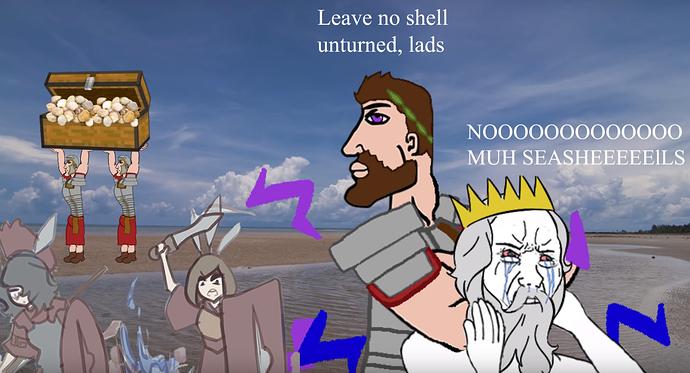 not my seashells