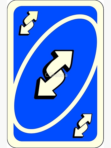 Image result for Uno reverse card