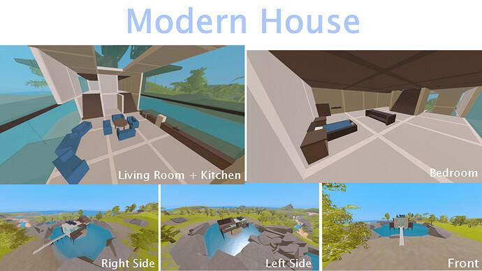 Modern House - Unturned