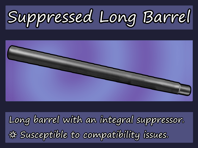 Suppressed Long Barrel chart