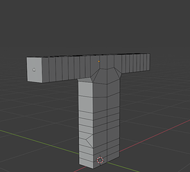 2 - Back of Base Model