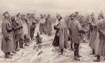 350px-Illustrated_London_News_-_Christmas_Truce_1914