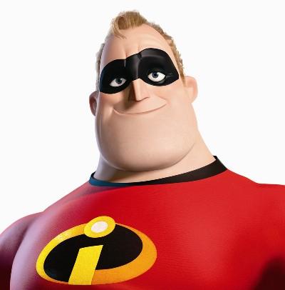 Animated Heroes . . . Mr. Incredible